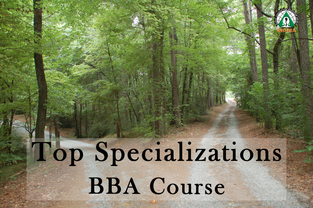 Top Specializations in BBA Course