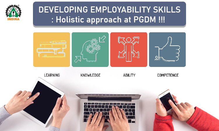 Developing employability skills: Holistic approach at PGDM